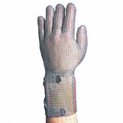 Cut Resistant Gloves,Silver,XL