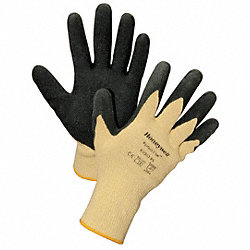 Cut Resistant Gloves,Yellow/Black,XL,PR