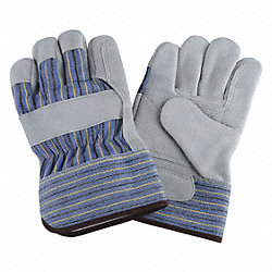 Leather Gloves,Split/Double,L,PR