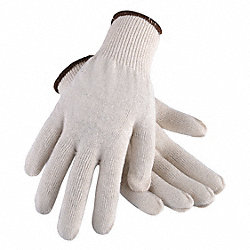 Heavyweight Knit Glove,Poly/Cotton,PR