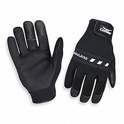 Cold Protection Gloves,L,Black,PR