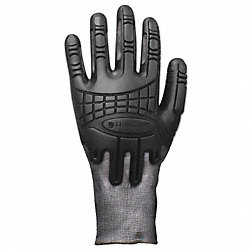 Glove,Cut Resistant,L,Heather Black,PR