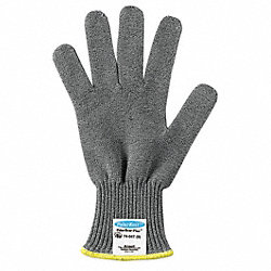 Cut Resistant Glove,Gray,Reversible,10