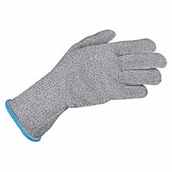 Cut Resistant Glove,Gray,Reversible,L