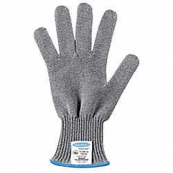 Cut Resistant Glove,Gray,Reversible,XL