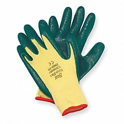 Cut Resistant Gloves,Yellow/Green,L,PR