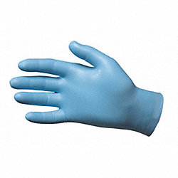 Disposable Gloves,Nitrile,XL,Blue,PK50