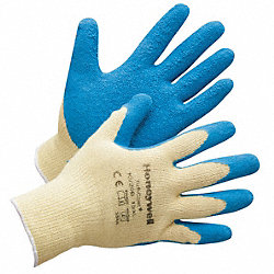 Cut Resistant Gloves,Yellow/Blue,L,PR