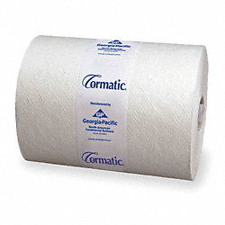 Paper Towel Roll,Cormatic,Wh,700ft.,PK6