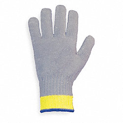 Cut Resistant Glove,Gray,Reversible,XS