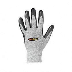 Cut Resistant Gloves,Gray,L,PR