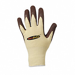 Cut Resistant Gloves,Tan/Brown,L,PR
