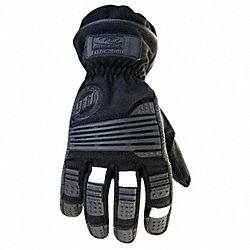 Extrication Gloves,2XL,Black,PR