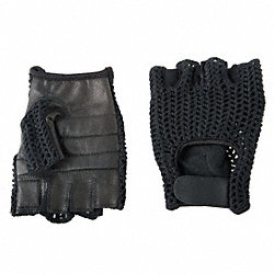 Anti-Vibration Gloves,L,Black,PR