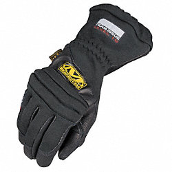 Fire Retardant Gloves,XL,Black,PR