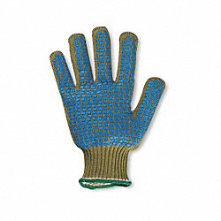 Cut Resistant Gloves,Gold,M