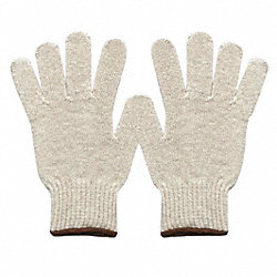 Heavyweigh Knit Glove,Poly/Cotton,PR
