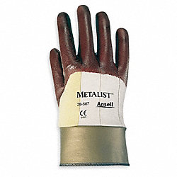 Cut Resistant Gloves,Maroon,L,PR