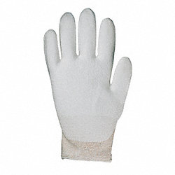Cut Resistant Gloves,White,L,PR