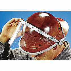 Foldback Faceshield Frame, Metal