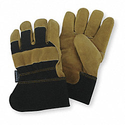Cold Protection Gloves,XL,Gold/Black,PR