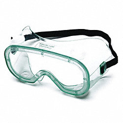 Chem Splash Goggles,Uncoated,Clr