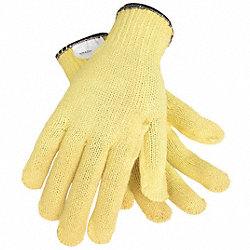 Cut Resistant Gloves,Yellow,L,PR