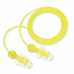 Ear Plugs,26dB,Corded,Univ,PK100