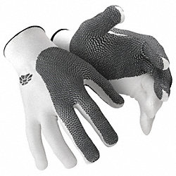 Cut Resistant Glove,Reversible,L